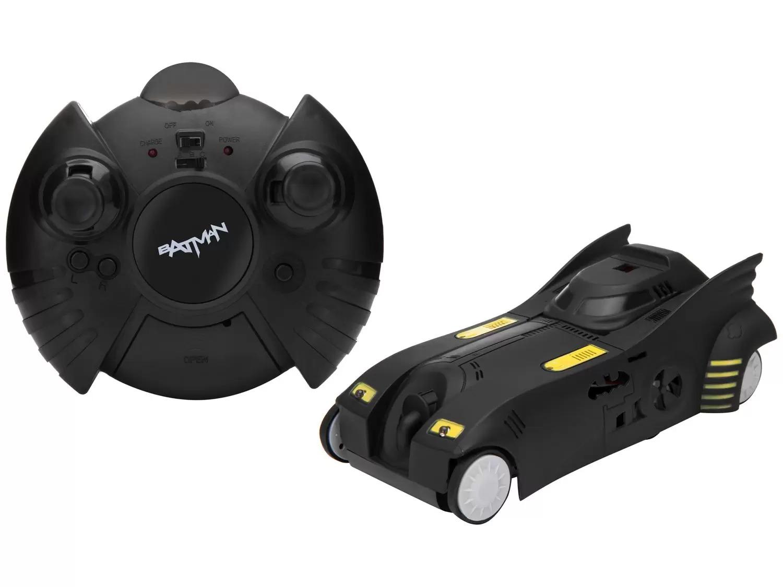 Carrinho Controle Remoto Batman - Gravidade Zero 7 Funções  Anda chão, Paredes e Teto - Candide