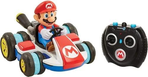 Carrinho Controle Remoto Kart Super Mario Racer Anti-Gravidade 7 funções – Candide