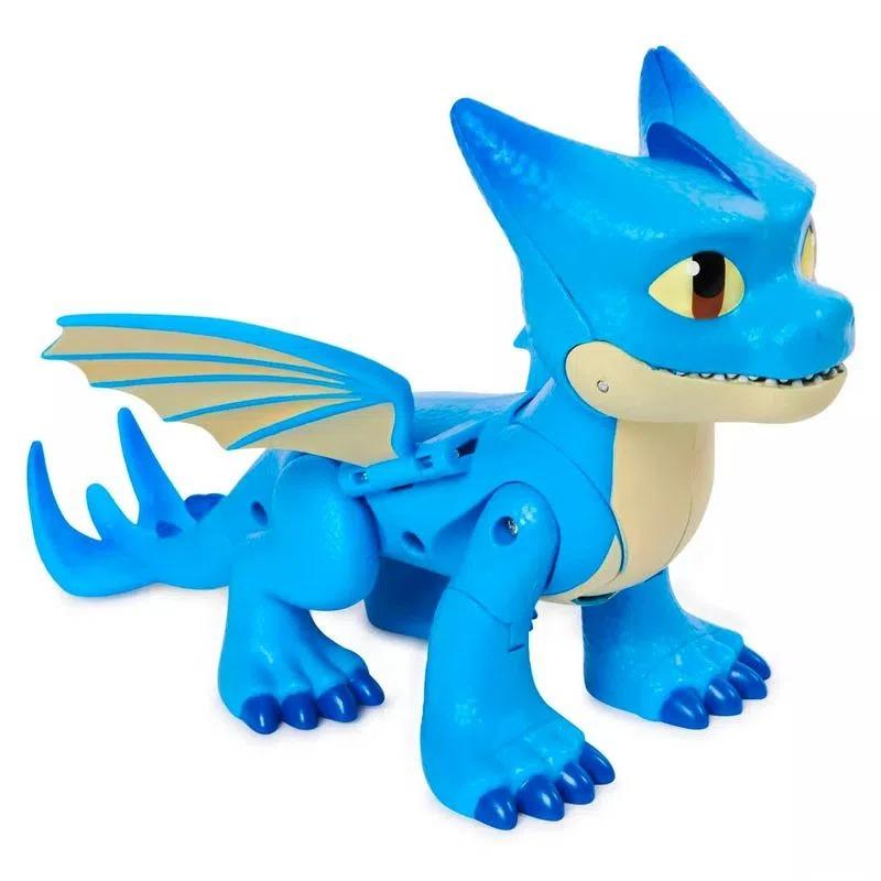 Como Treinar Seu Dragão Rescue Riders – Winger 20 cm Articulado Funçao Mordida - Sunny