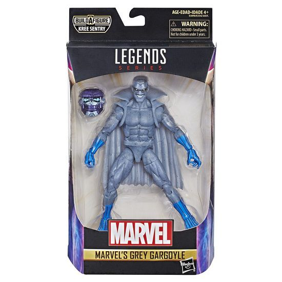 Figura Legends Series Build Filme Capitã Marvel Grey Gargoyle 16 cm Articulado Hasbro