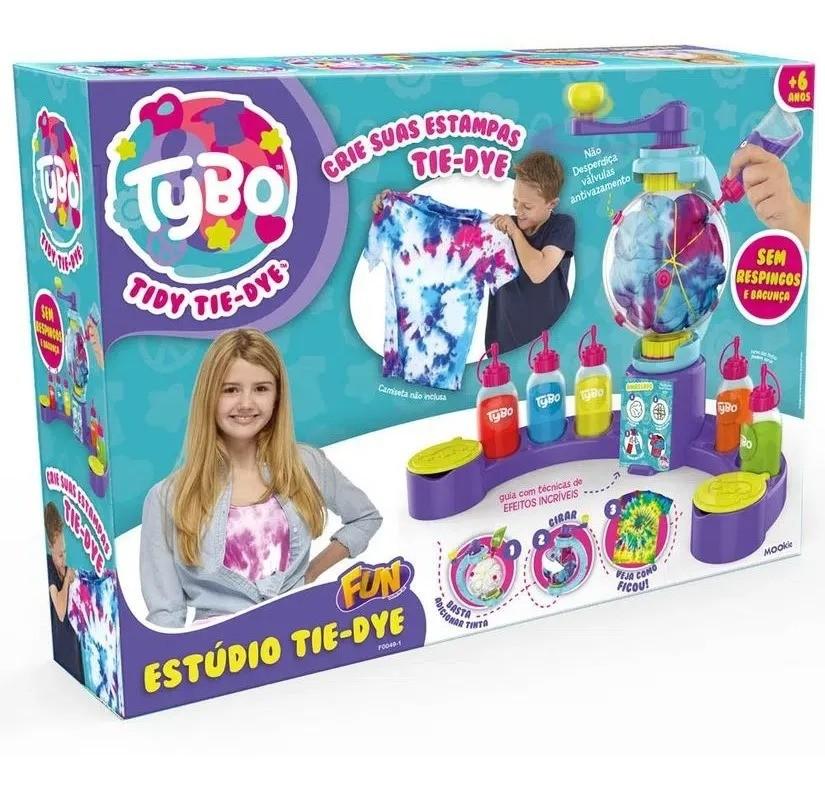 Estúdio Tidy Tie-dye Kit Tybo – Crie suas estampas - Fun