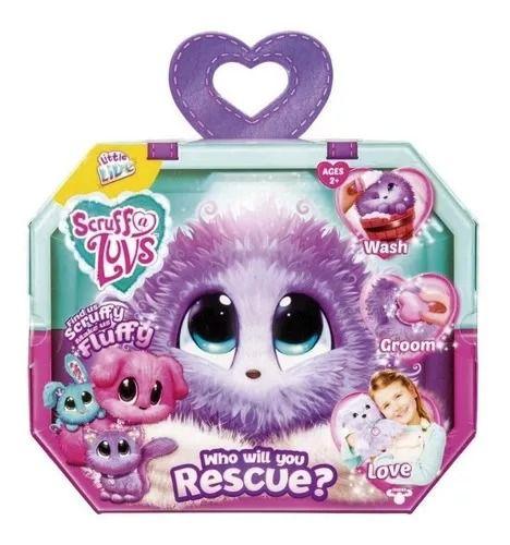 Fur Balls Pets Adotados Surpresa Lilás – Lave,Cuide ,Ame - Fun