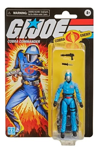 G.i. Joe Retro Collection Boneco Cobra Commander 10 cm – Hasbro