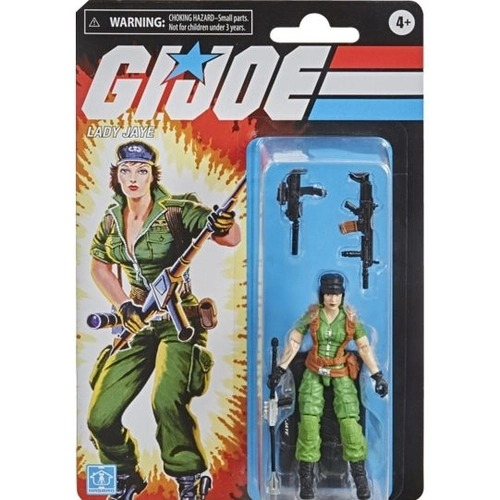 G.i. Joe Retro Collection Boneco Lady Jaye Articulado 10 cm – Hasbro