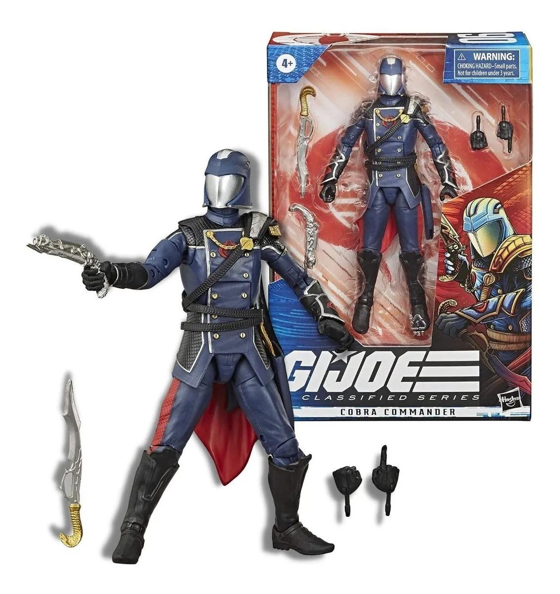 Gi Joe Classified Series Elite 06  Boneco Cobra Commander 16 cm  - Hasbro