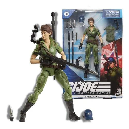 Gi Joe Classified Series Elite 25  Boneco Lady Jaye 16 cm  - Hasbro