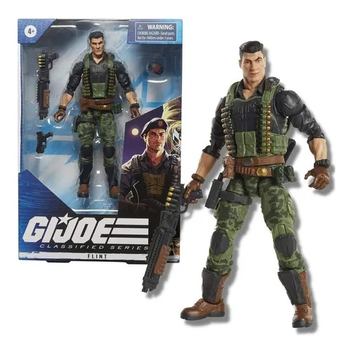 Gi Joe Classified Series Elite 26  Boneco Flint 16 cm  - Hasbro