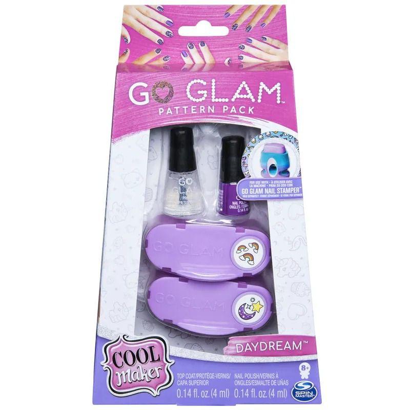 Go Glam Pattern Pack  – Conjunto Pintura de Unhas Daydream – Sunny