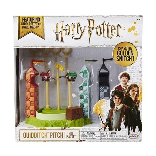 Harry Potter – PlaySet E  Mini Figuras - Campo de Quadribol - Sunny