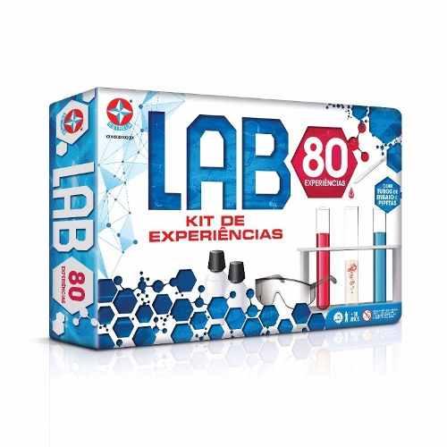 Jogo Kit Experiências Lab 80 Experiências Estrela