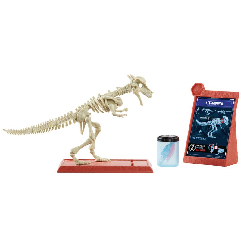 Jurassic World 2 – Esqueleto Dino Jurassico - Stygimoloch – Mattel