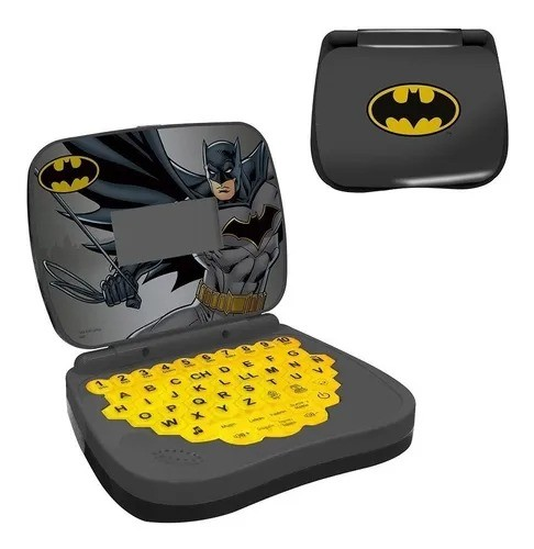 Laptop Atividades Infantil DC Batman - português/inglês - Candide