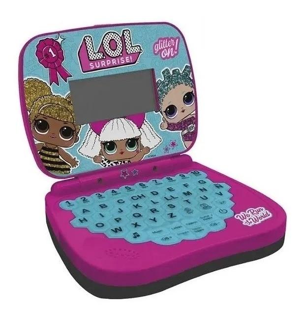 Laptop Atividades Infantil LOL - português/inglês - Candide