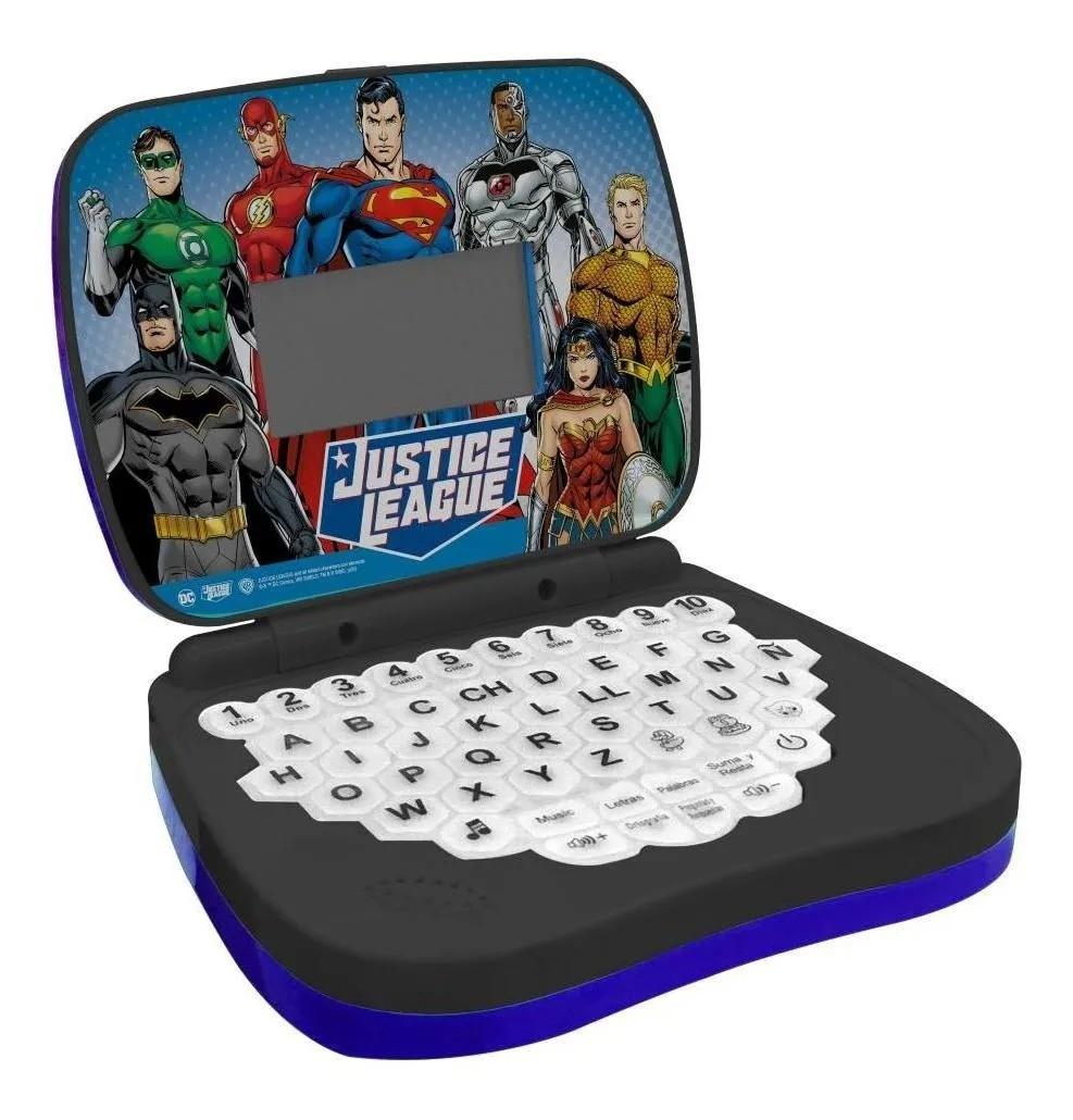 Laptop Infantil DC Liga da Justiça - português/inglês - Candide