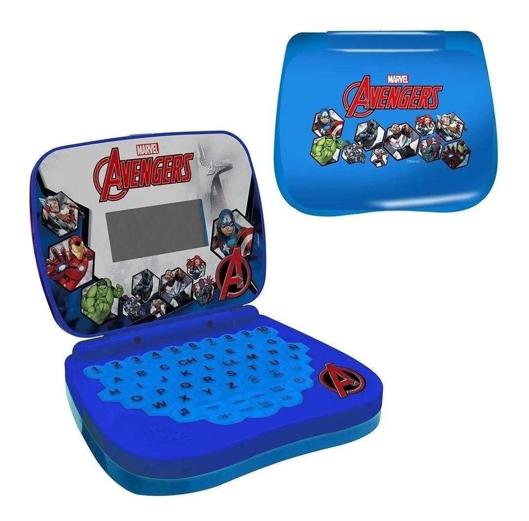 Laptop Infantil Marvel Vingadores- português/inglês - Candide