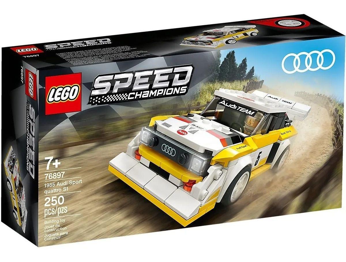 Lego76897 Speed Champions Carro 1985 Audi Sport Quattro S1 – 250 peças
