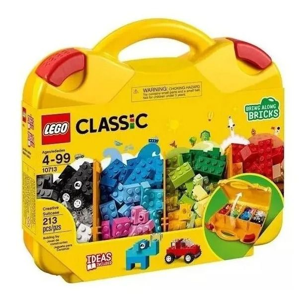 Lego 10713 Classic Maleta Da Criatividade - 213 Peças