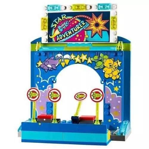 Lego 10770 Toy Story 4 – Carnaval Mania Do Buzz Lightyear e Woody  - 230 peças  - Doce Diversão