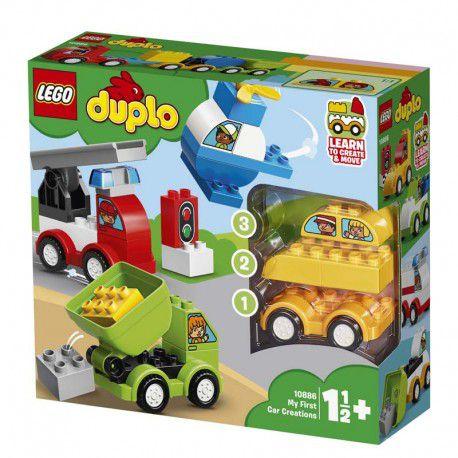 Lego 10886 Duplo - Minhas Primeiras Criações de Carros – 34 peças