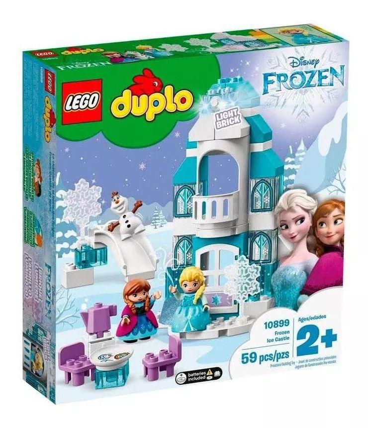 Lego 10899 Duplo Castelo de Gelo de Frozen – 59 peças