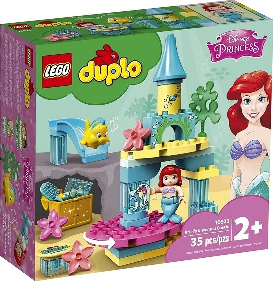 Lego 10922 Duplo O Castelo Do Fundo Do Mar Da Ariel - 35 Peças