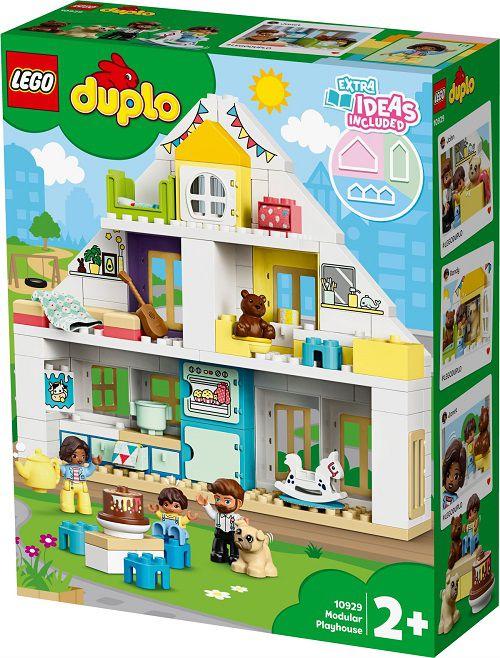 Lego 10929 Duplo  Casa de Brinquedo Modular 3 em 1 – 129 peças