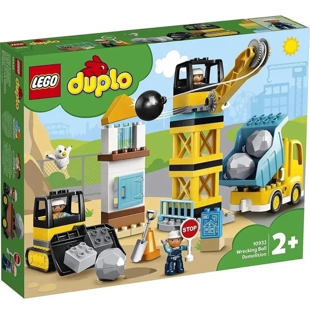 Lego 10932 Duplo Demolição Com Bola Destruídora – 56 peças