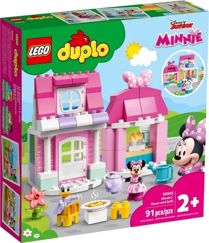 Lego 10942 Duplo - Casa E Lanchonete Da Minnie e Margarida  91 peças