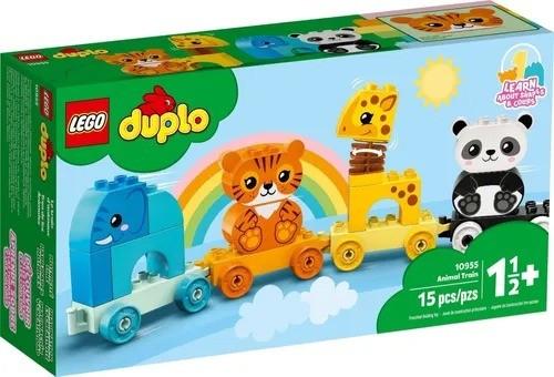 Lego 10955 Duplo - Trem De Animais – 15 peças