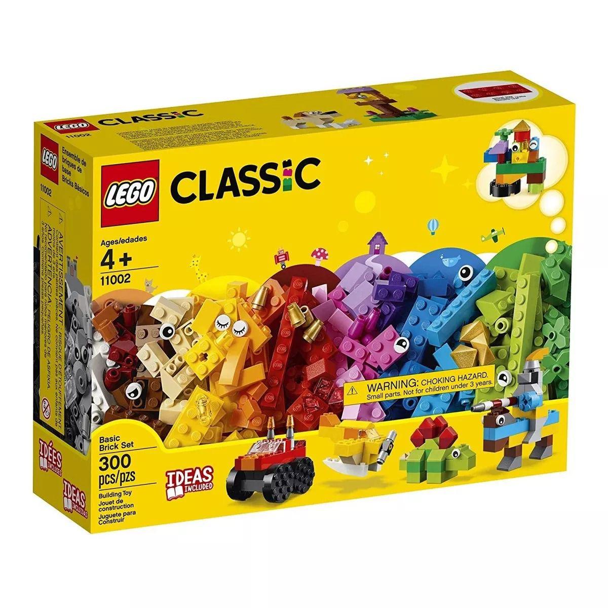 Lego 11002 Classic – Caixa Conjunto de Peças Básico C/ Idéias  – 300 peças