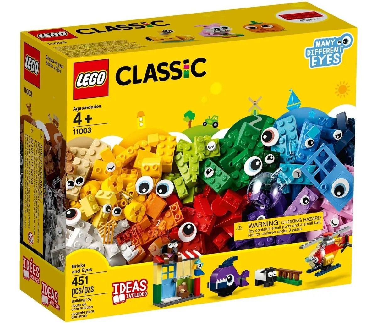 Lego 11003 Caixa Classic Peças E Olhos Com Ideias  - 451 peças