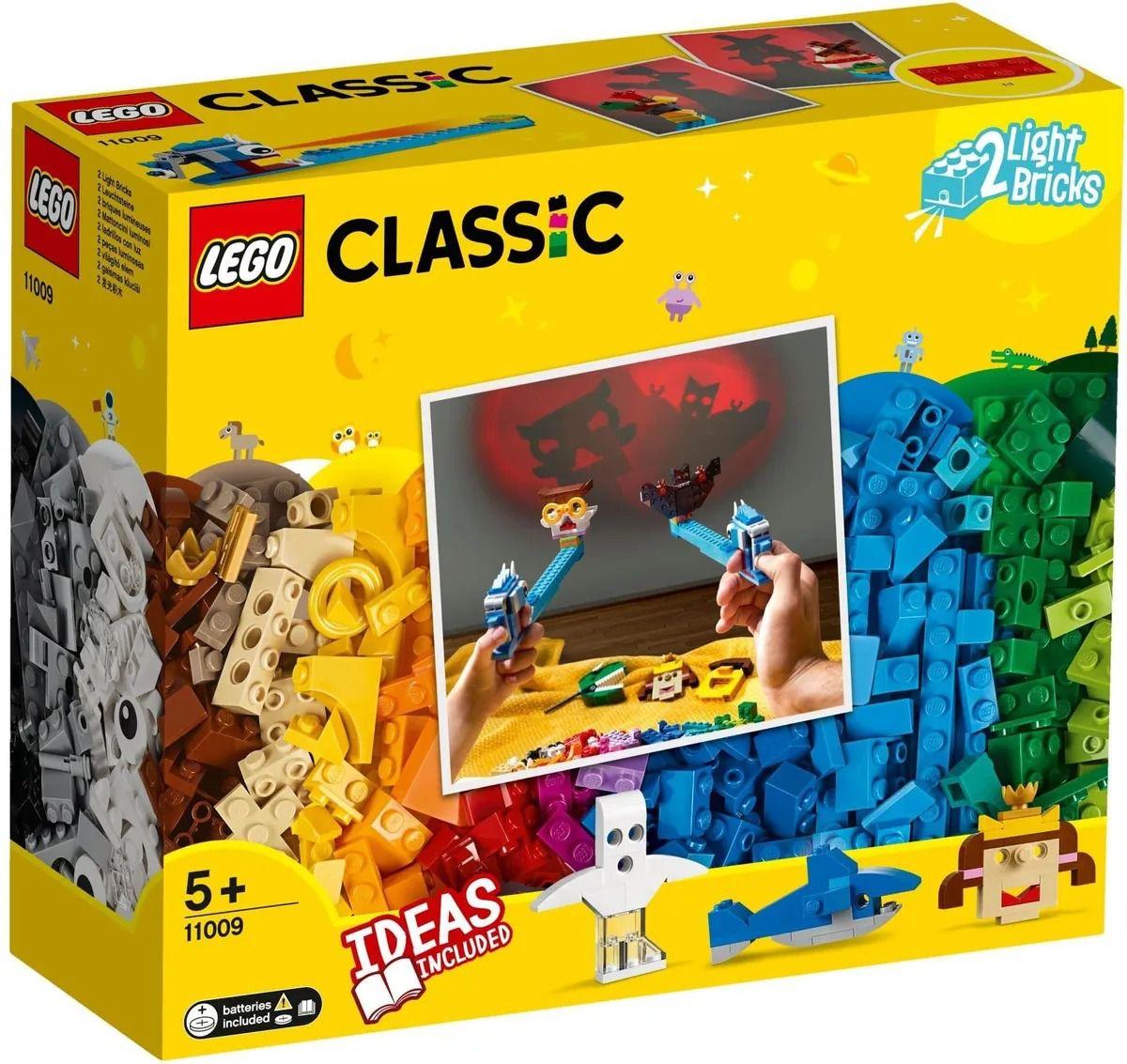 Lego 11009 Caixa Classic Pecas E Luzes - Com Luz e Ideias - 441 peças