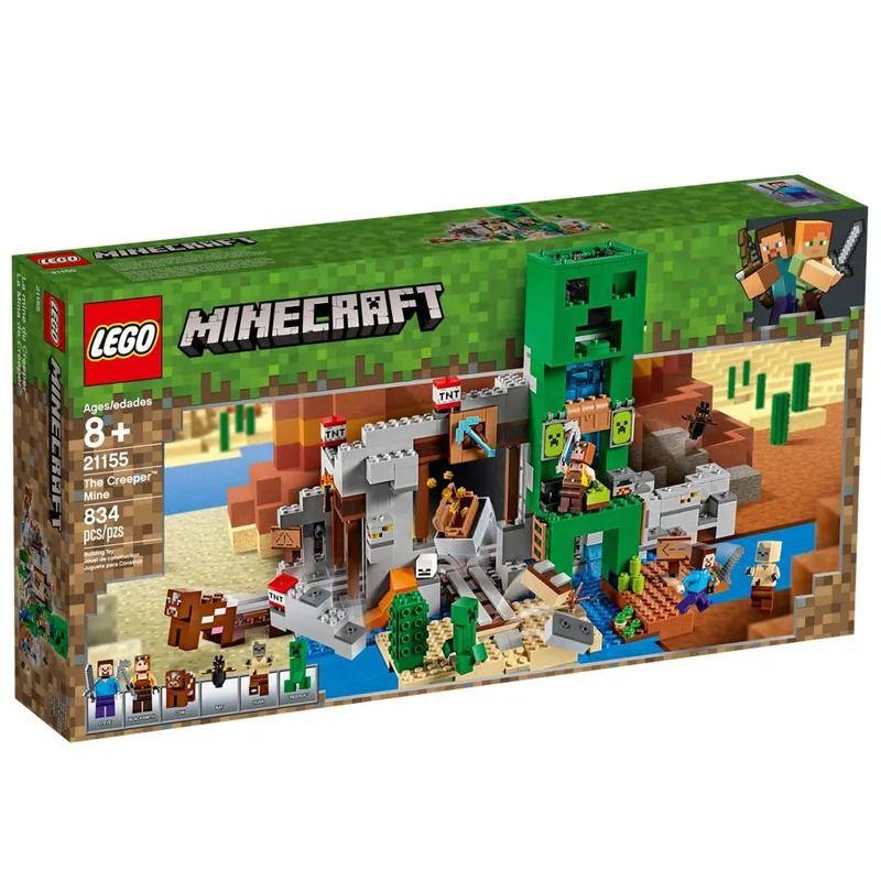 Lego 21155 Minecraft - A Mina Creeper – 834 peças