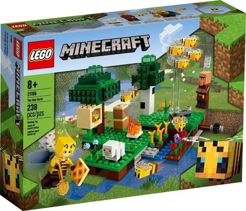 Lego 21165 Minecraft - A Fazenda Das Abelhas - 238 Peças