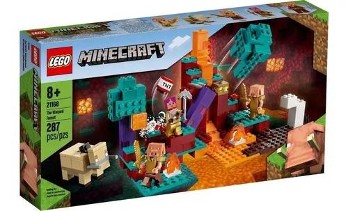 Lego 21168 Minecraft - Floresta Deformada - 287 Peças