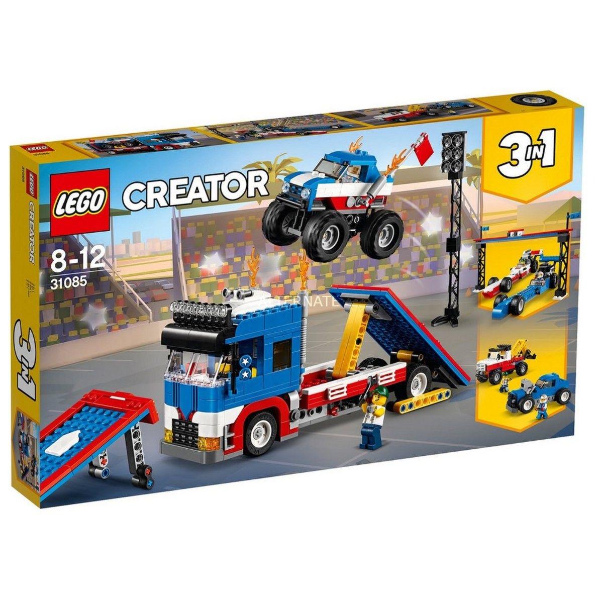 Lego 31085 Creator Espetaculo De Acrobacia Movel – 581 peças