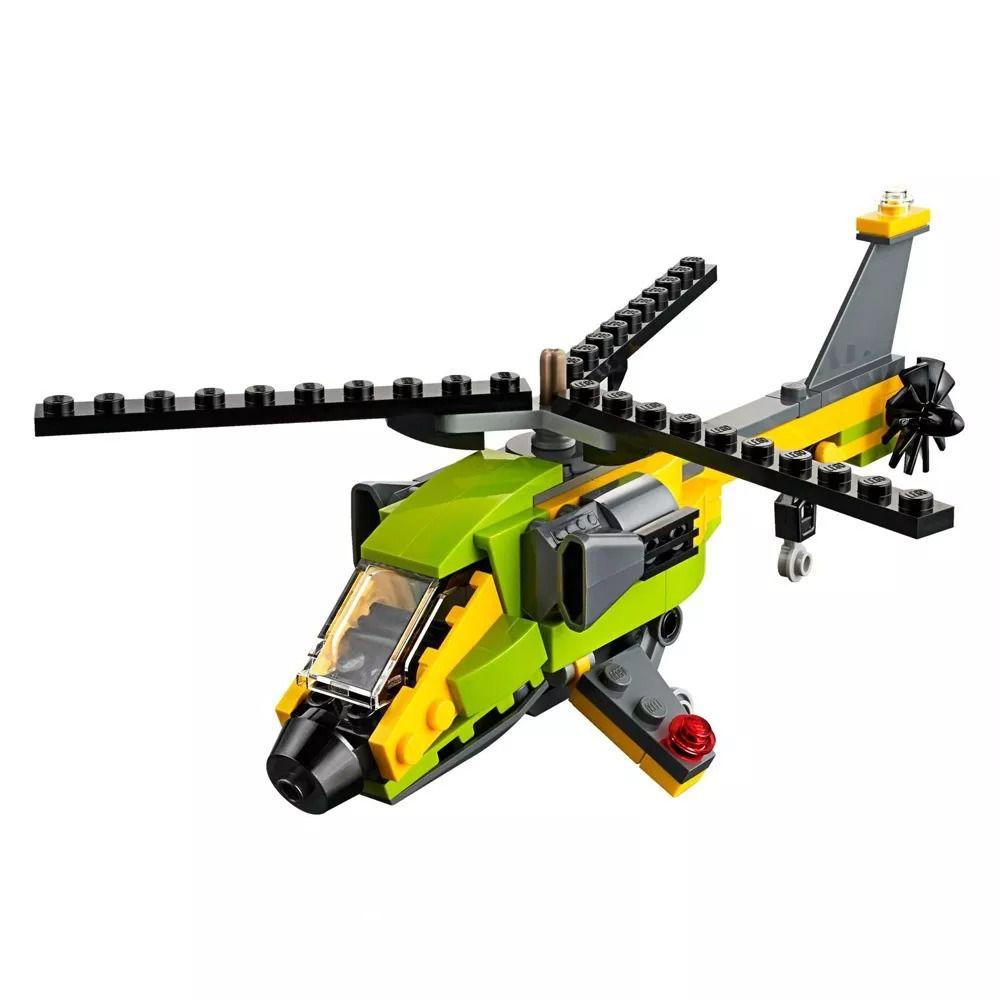 Lego 31092 Creator - 3 Em 1 – Helicópteros De Aventura – 114 peças  - Doce Diversão