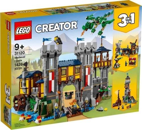 Lego 31120 Creator 3 em 1 -  Castelo Medieval  1426 peças