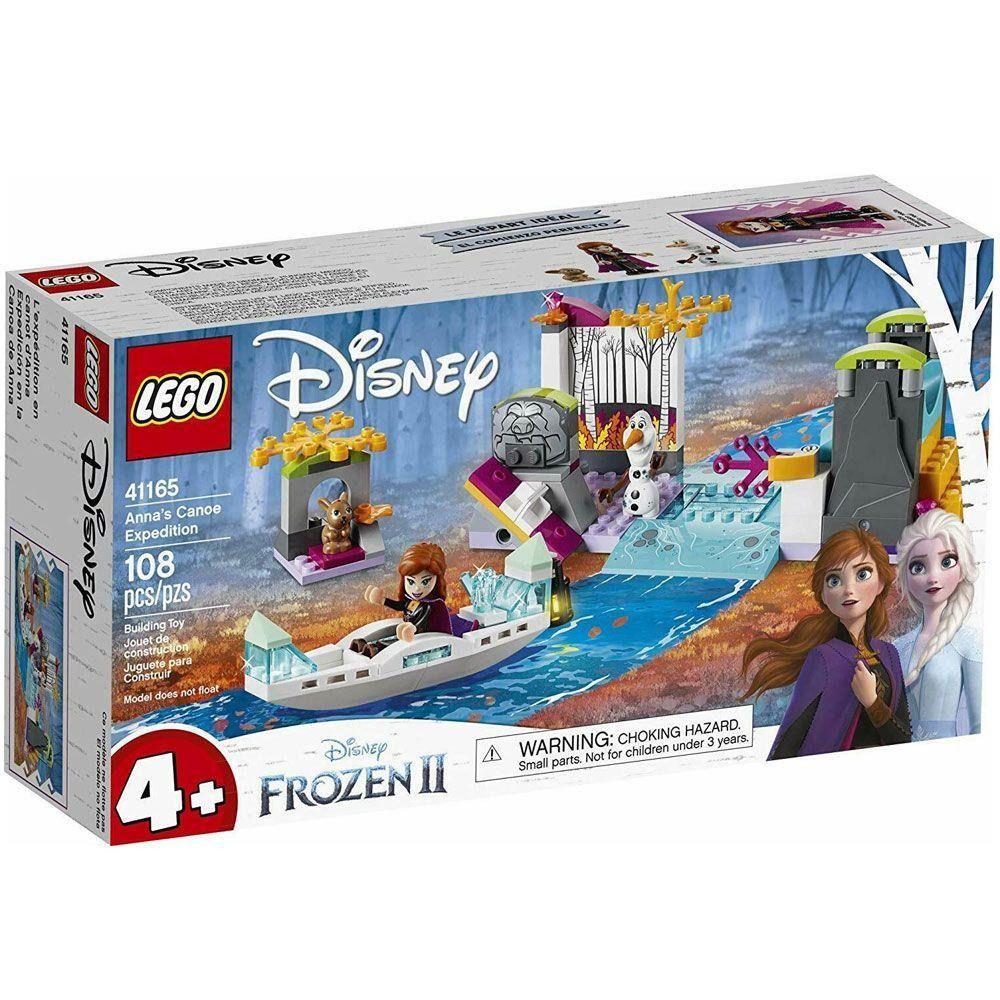 Lego 41165 Disney Frozen 2 - A Expedicao De Canoa Da Anna  108 peças