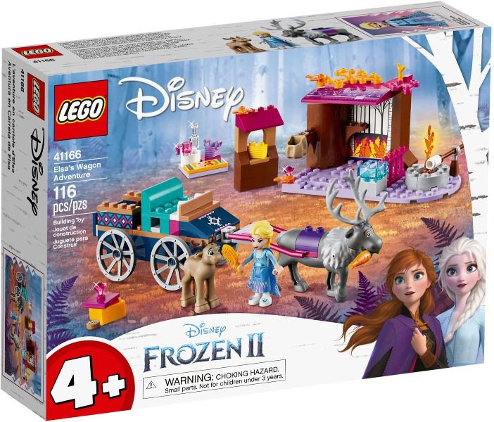 Lego 41166 Disney Frozen 2 - A Aventura Em Caravana Da Elsa - 116 peças
