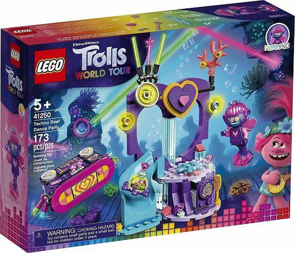 Lego 41250 Trolls World Tour - Festa de Dança Techno No Recife – 173 peças