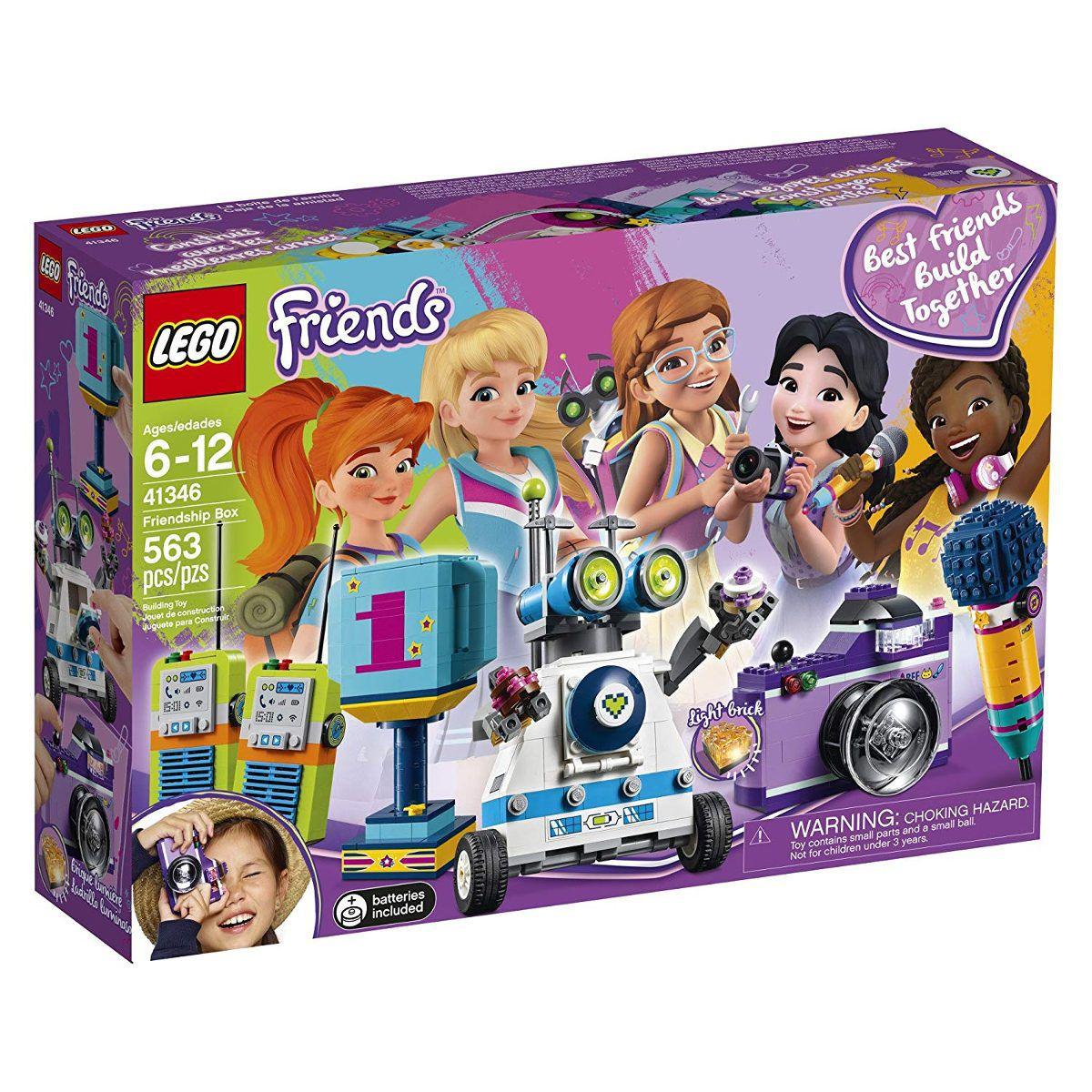 Lego 41346 Friends Caixa da Amizade das 5 amigas - 563 peças