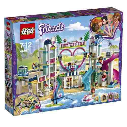 Lego 41347 Friends - Resort Da Cidade De Heartlake -1017 peças