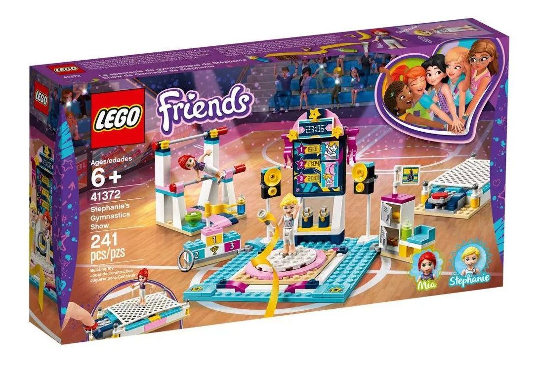 Lego 41372 Friends - O Show De Ginástica Da Stephanie – 241 peças