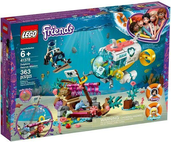 Lego 41378 Friends - Missão de Resgate de Golfinhos – 363 peças