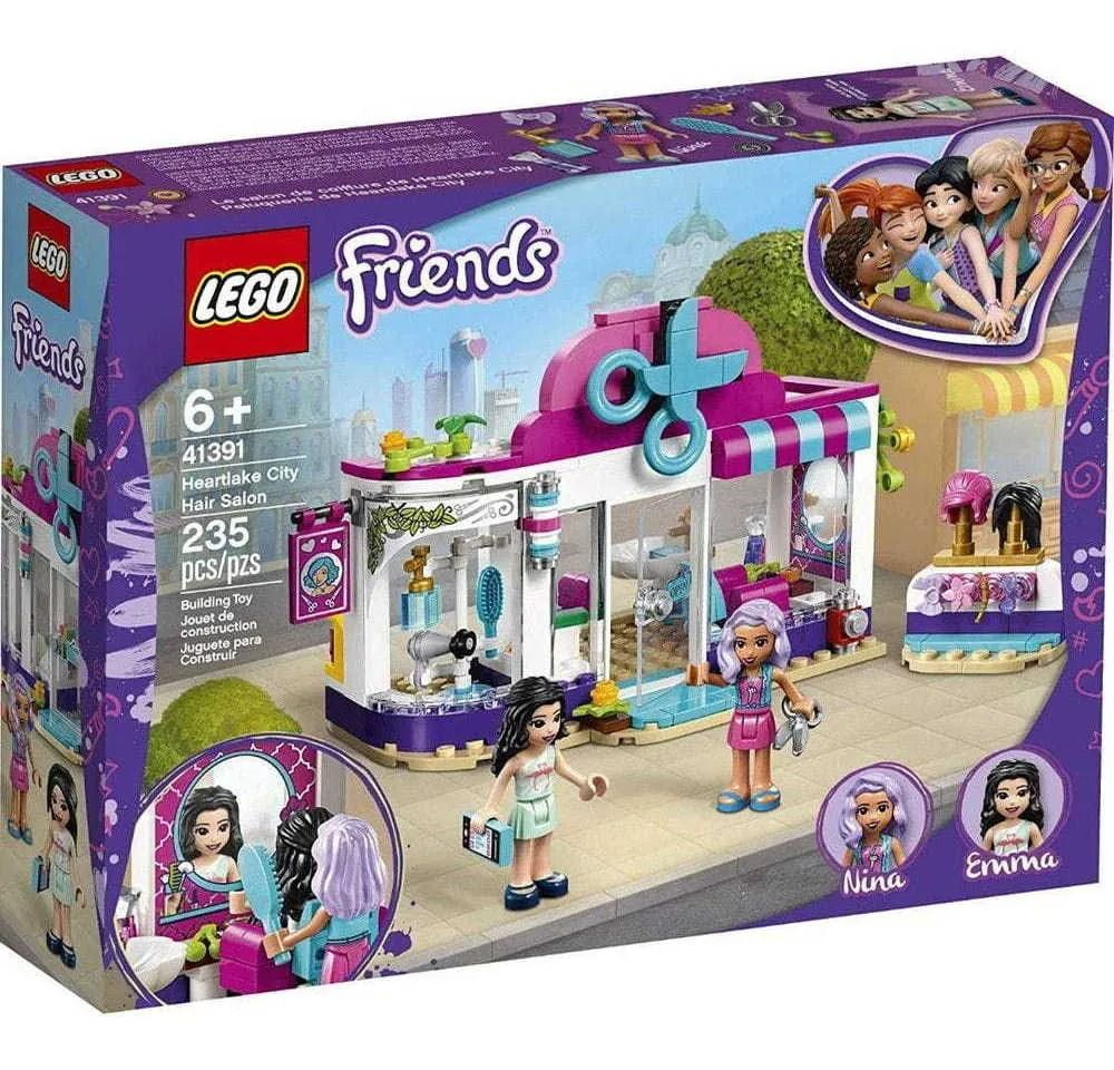 Lego 41391 Friends- Salão De Cabeleireiro De Heartlake City- 235 peças