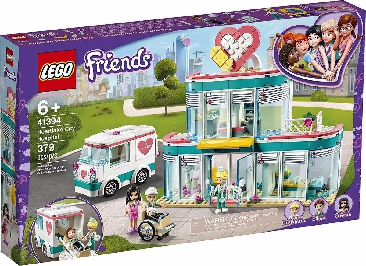 Lego 41394 Friends Hospital de Heartlake City Com Ambulância – 379 peças