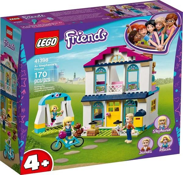 Lego 41398 Friends A Casa De Stephanie  170 peças