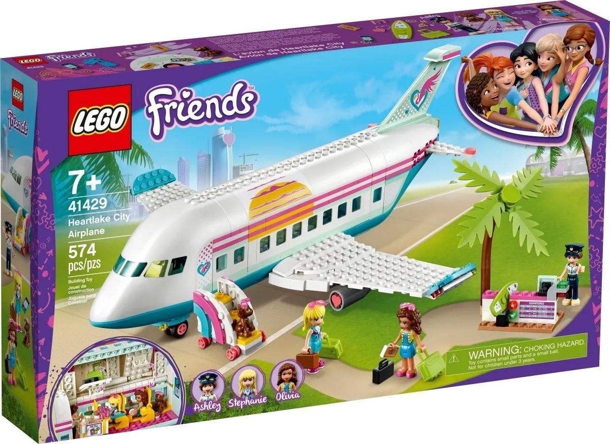 Lego 41429 Friends - Avião De Heartlake City - 574 Peças