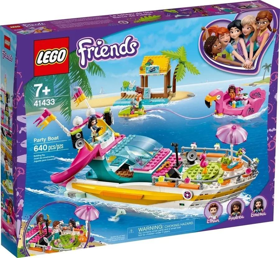 Lego 41433 Friends Barco De Festa – 640 peças